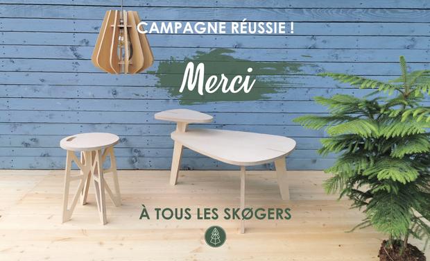 Campagne Kiss Kiss Bank Bank : Skog wood design