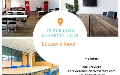 Locaux à louer à Lille !