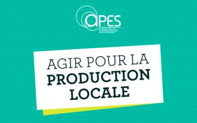 """Webinaire """"Agir pour la production locale"""""""